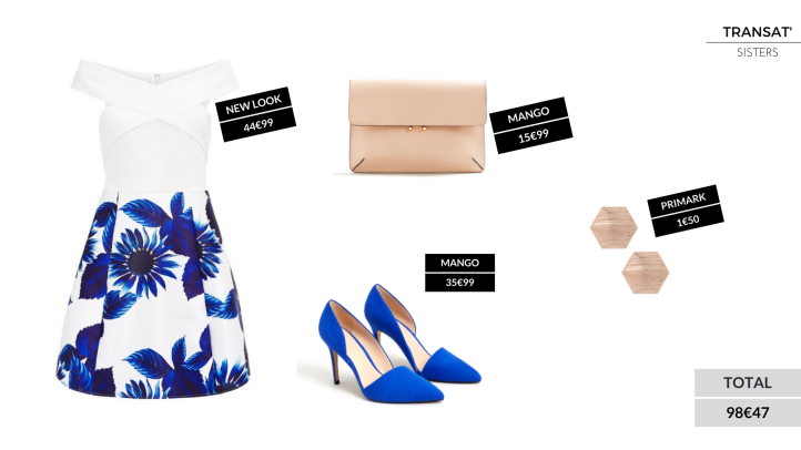3 chic outfits for less than100€